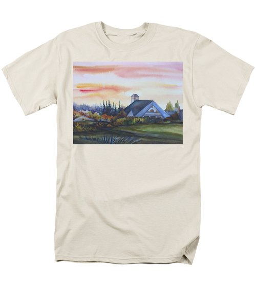 Silence Upon Midnapore Men's T-Shirt  (Regular Fit) by Anna  Duyunova