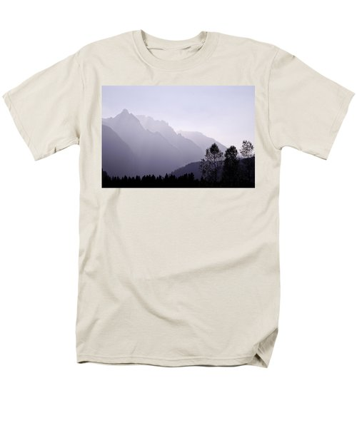 Silhouette Austria Europe Men's T-Shirt  (Regular Fit) by Sabine Jacobs