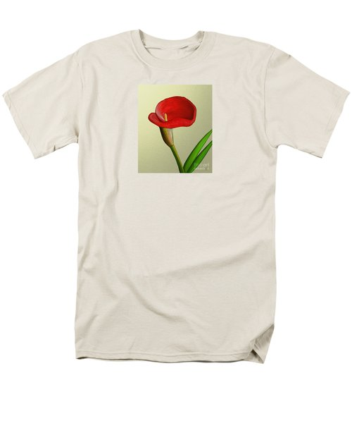 Men's T-Shirt  (Regular Fit) featuring the painting Single Pose by Rand Herron
