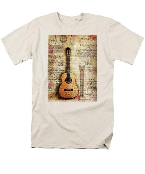 Six String Sages Men's T-Shirt  (Regular Fit) by Gary Bodnar