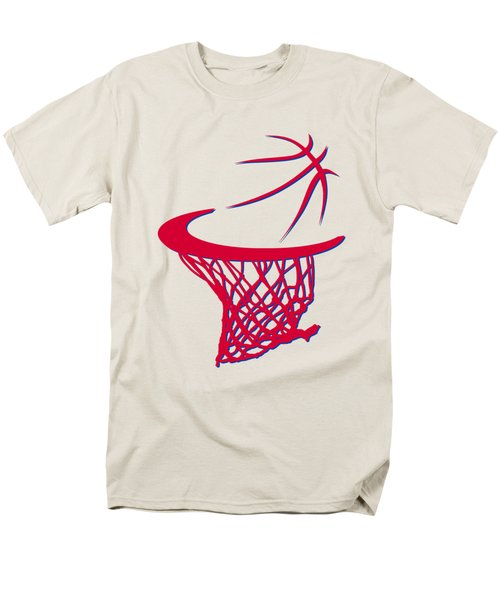 Sixers Basketball Hoop Men's T-Shirt  (Regular Fit) by Joe Hamilton
