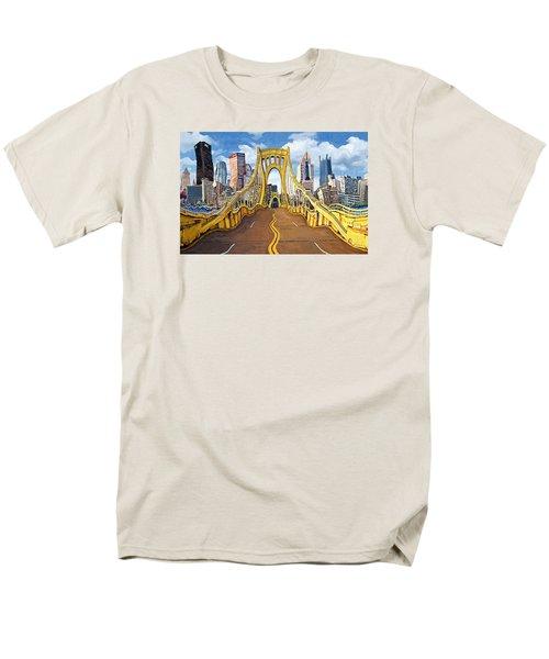 Sixth Street Bridge, Pittsburgh Men's T-Shirt  (Regular Fit)