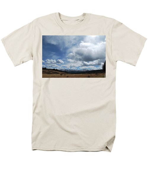 Sky Of Shrine Ridge Trail Men's T-Shirt  (Regular Fit) by Amee Cave