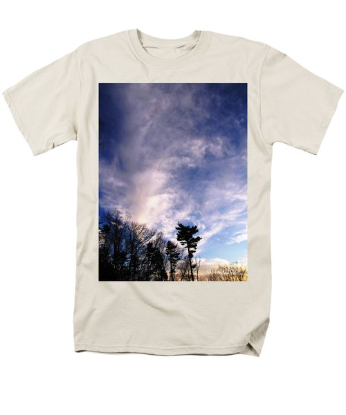 Men's T-Shirt  (Regular Fit) featuring the photograph Sky Study 2 3/11/16 by Melissa Stoudt