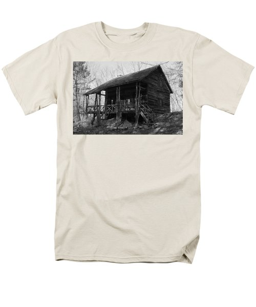 Men's T-Shirt  (Regular Fit) featuring the photograph Slabsides In Spring by Jeff Severson