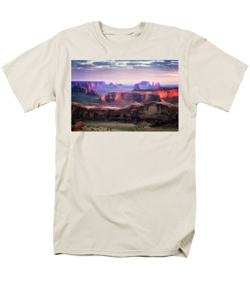 Smooth Sunset Men's T-Shirt  (Regular Fit) by Nicki Frates