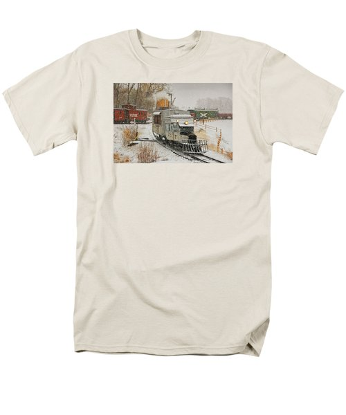 Men's T-Shirt  (Regular Fit) featuring the photograph Snow Goose by Ken Smith