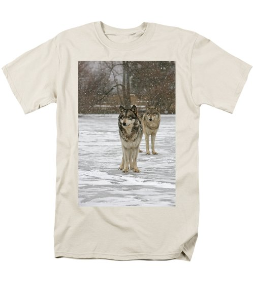 Men's T-Shirt  (Regular Fit) featuring the photograph Snow Mates by Shari Jardina