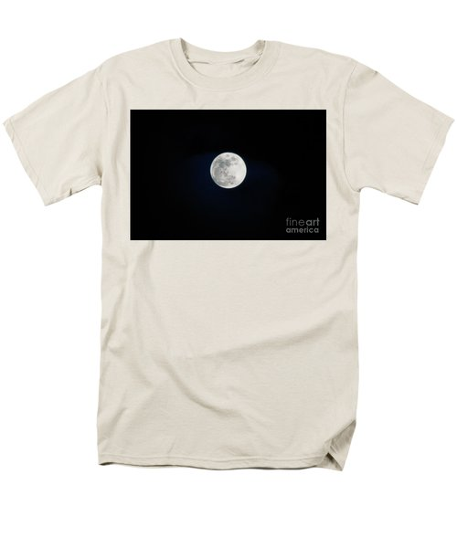 Snow Moon 4 Men's T-Shirt  (Regular Fit) by Janie Johnson