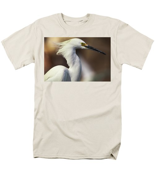 Snowy Egret Men's T-Shirt  (Regular Fit) by Jason Moynihan