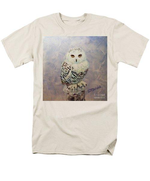 Snowy Owl Men's T-Shirt  (Regular Fit)