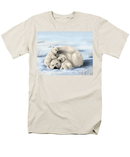 Men's T-Shirt  (Regular Fit) featuring the painting So Much Love by Veronica Minozzi