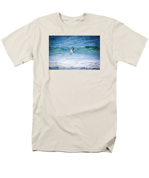 Soaring Over The Ocean Men's T-Shirt  (Regular Fit) by Shelby Young