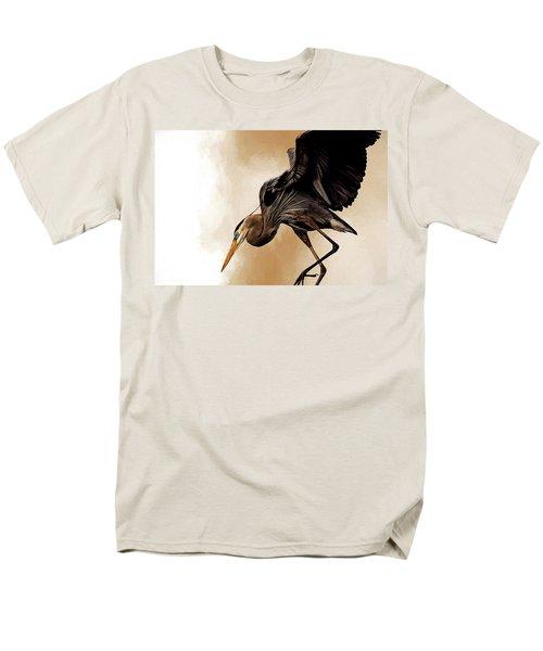 Soft Landing Men's T-Shirt  (Regular Fit) by Cyndy Doty