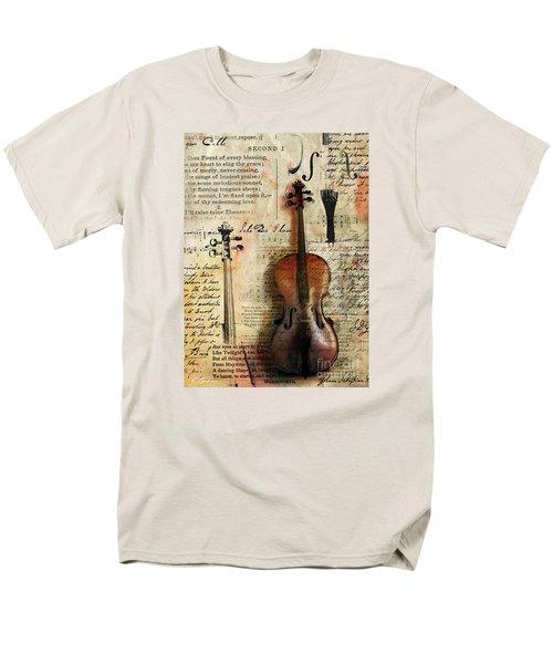 Soli Deo Gloria Men's T-Shirt  (Regular Fit) by Gary Bodnar