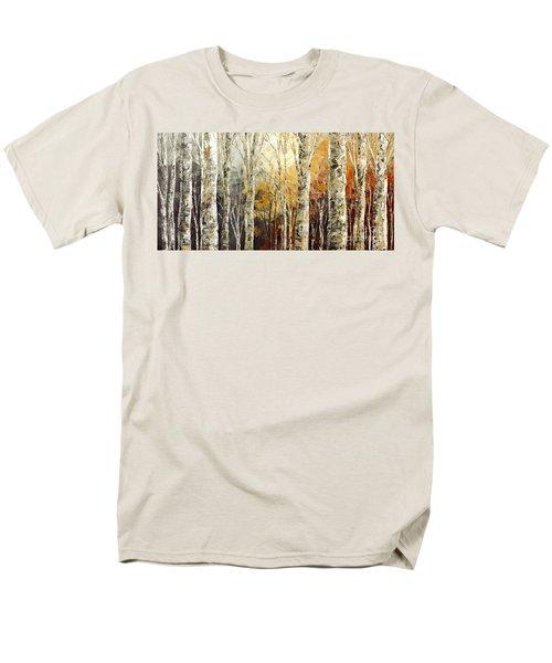 Solitudes Of Twilight Men's T-Shirt  (Regular Fit) by Tatiana Iliina