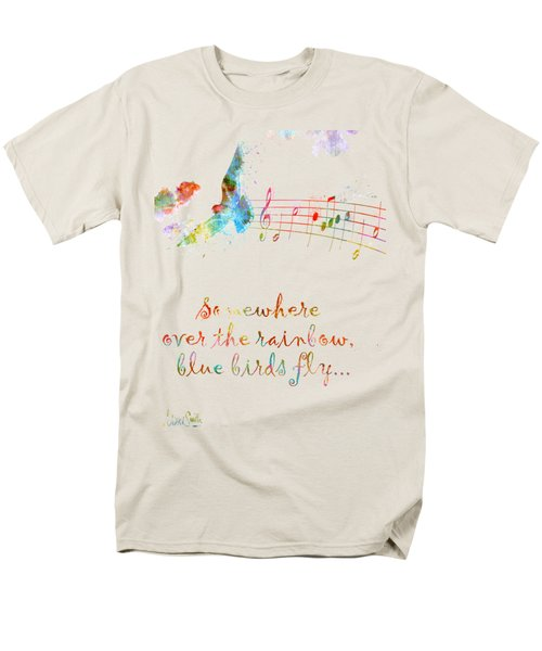 Somewhere Over The Rainbow Men's T-Shirt  (Regular Fit) by Nikki Smith