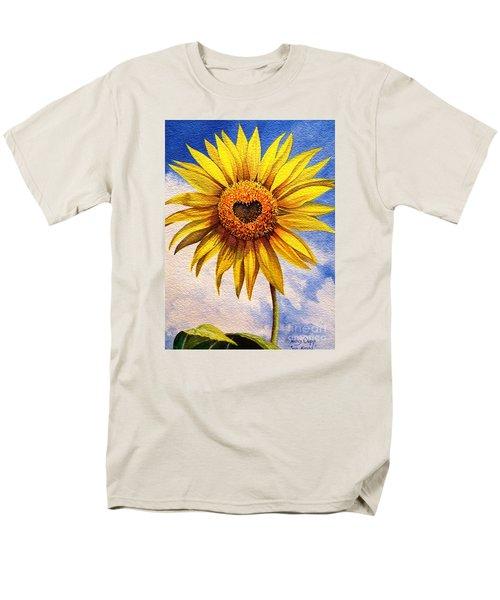 Son Kissed Men's T-Shirt  (Regular Fit) by Nancy Cupp