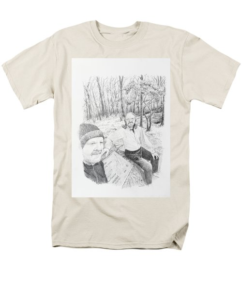 Southern Terminus  Men's T-Shirt  (Regular Fit) by Daniel Reed