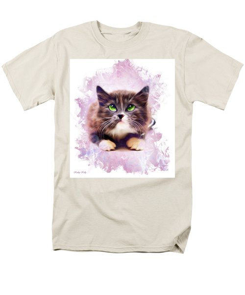 Spice Kitty Men's T-Shirt  (Regular Fit) by Kathy Kelly