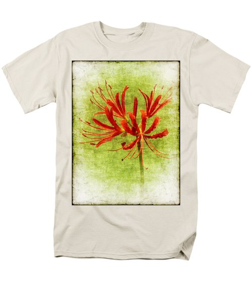 Spider Lily Men's T-Shirt  (Regular Fit) by Judi Bagwell