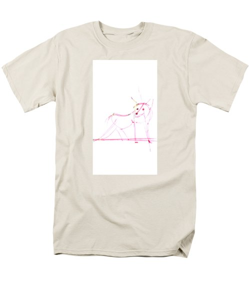 Spirit Animal . Ghost Fox Men's T-Shirt  (Regular Fit) by John Jr Gholson