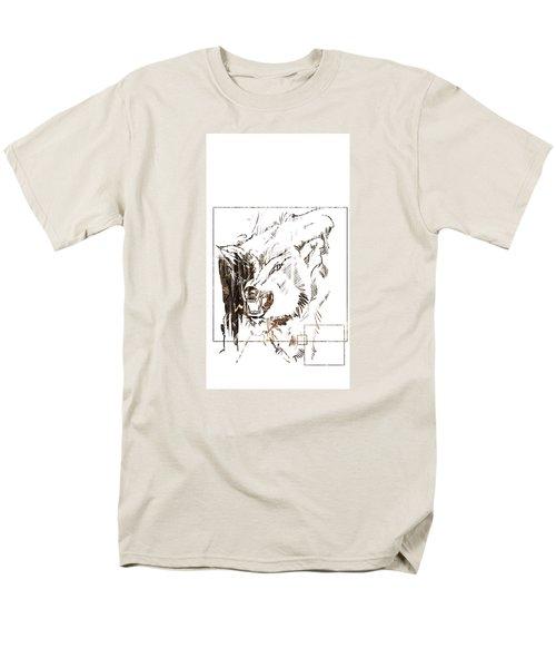 Spirit Animal . Wolf Men's T-Shirt  (Regular Fit) by John Jr Gholson