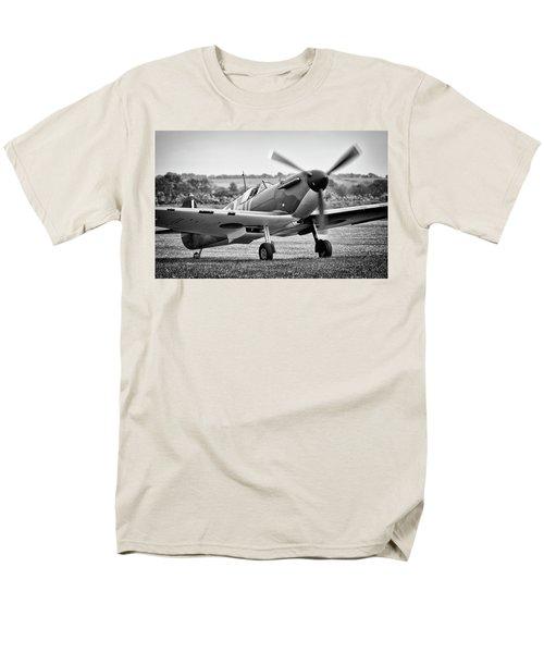 Spitfire Mk1 Men's T-Shirt  (Regular Fit) by Ian Merton