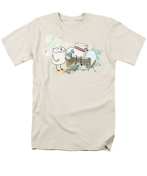 Spoonful Of Sugar Words Illustrated  Men's T-Shirt  (Regular Fit)
