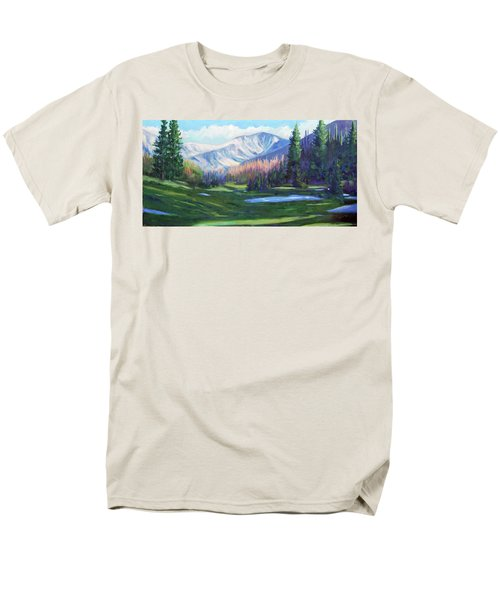 Spring Colors In The Rockies Men's T-Shirt  (Regular Fit) by Billie Colson