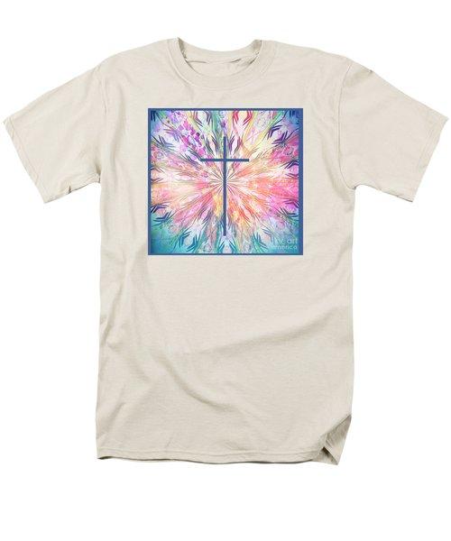 Men's T-Shirt  (Regular Fit) featuring the photograph Spring Cross by Geraldine DeBoer