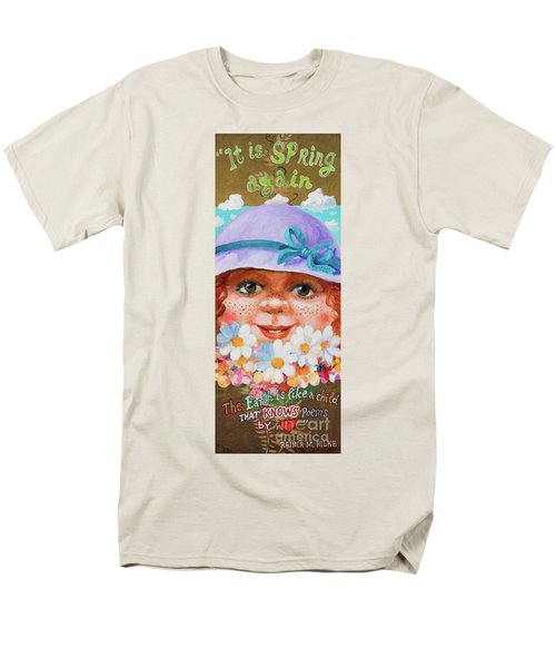 Men's T-Shirt  (Regular Fit) featuring the painting Spring by Igor Postash