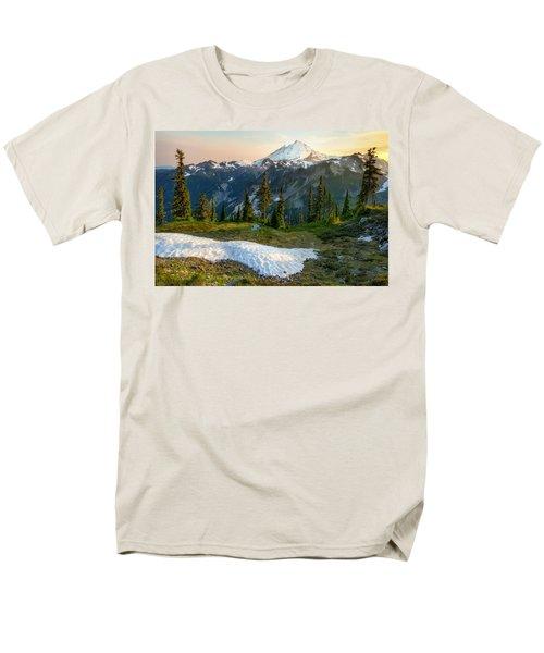 Men's T-Shirt  (Regular Fit) featuring the photograph Spring Melt by Ryan Manuel