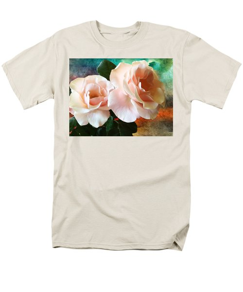 Spring Roses Men's T-Shirt  (Regular Fit) by Gabriella Weninger - David