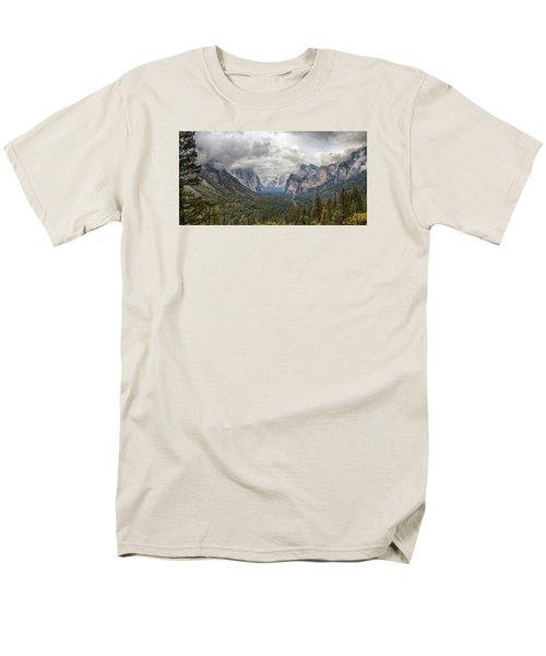 Spring Storm Yosemite Men's T-Shirt  (Regular Fit) by Harold Rau
