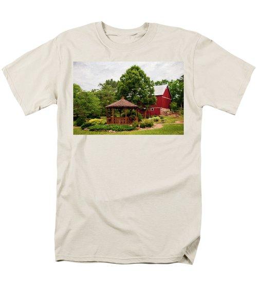 Springwater Park Men's T-Shirt  (Regular Fit) by Trey Foerster