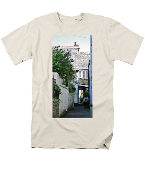 Squeeze-ee-belly Alley Men's T-Shirt  (Regular Fit) by Richard Brookes