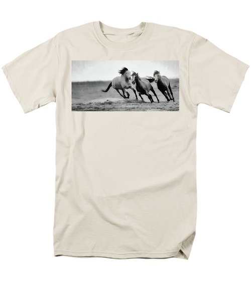 Men's T-Shirt  (Regular Fit) featuring the photograph Stallion  by Kelly Marquardt