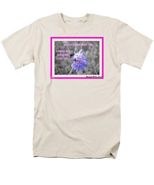 Standing Alone Men's T-Shirt  (Regular Fit)