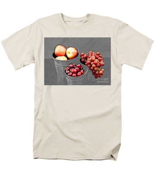 Men's T-Shirt  (Regular Fit) featuring the photograph Standing Out As Fruit by Sherry Hallemeier