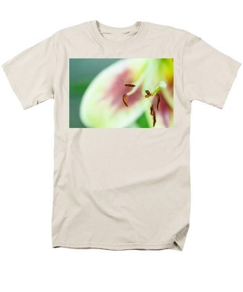 Stargazer Lily Men's T-Shirt  (Regular Fit) by Marlo Horne
