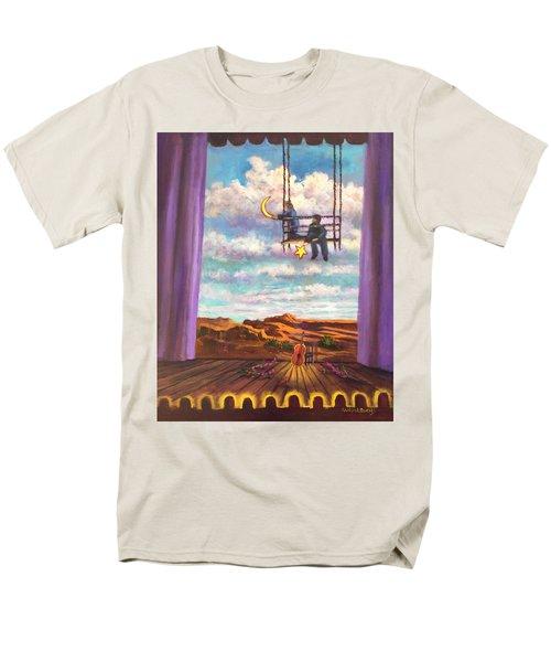Starry Day Men's T-Shirt  (Regular Fit)