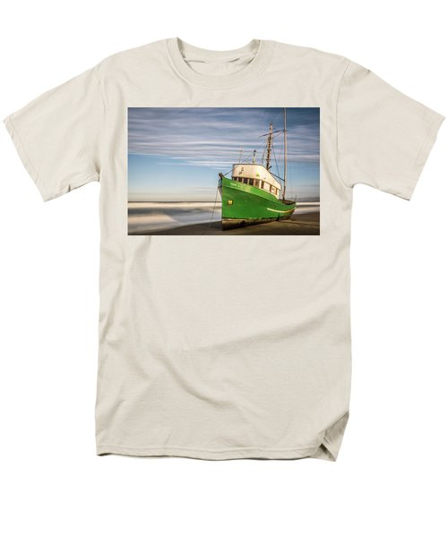 Stranded On The Beach Men's T-Shirt  (Regular Fit) by Jon Glaser