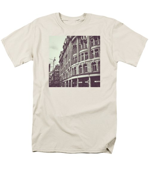 Streets Of London Men's T-Shirt  (Regular Fit) by Trystan Oldfield