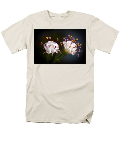 String Of Pearl Succulent Flowers Men's T-Shirt  (Regular Fit) by Catherine Lau