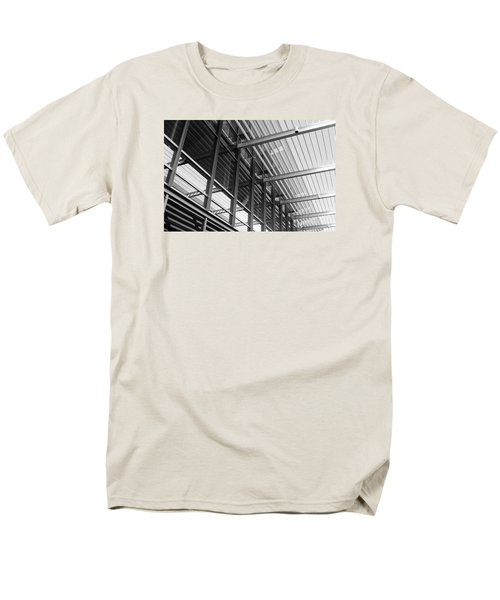 Men's T-Shirt  (Regular Fit) featuring the photograph Structure Abstract 9 by Cheryl Del Toro