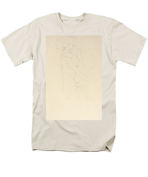 Study For Adele Bloch Bauer II Men's T-Shirt  (Regular Fit) by Gustav Klimt