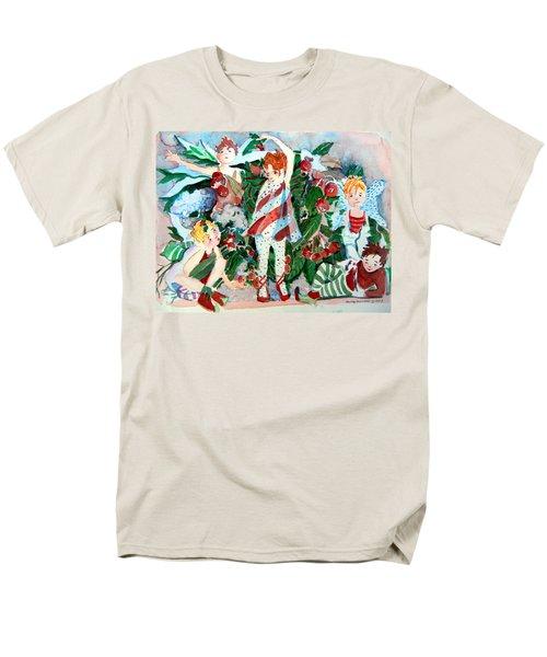 Sugar Plum Fairies Men's T-Shirt  (Regular Fit) by Mindy Newman