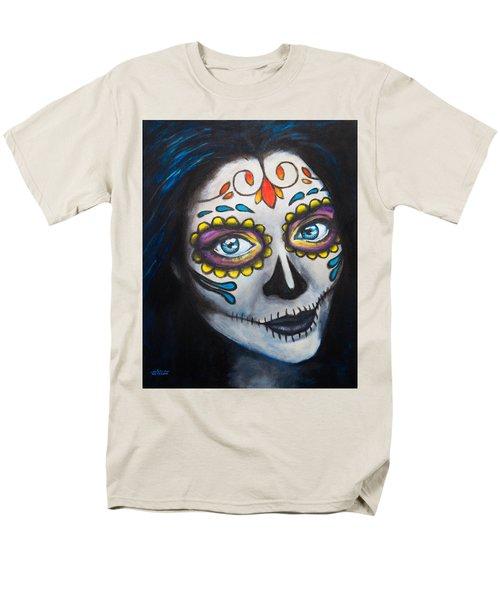 Sugar Sheana Men's T-Shirt  (Regular Fit) by Arleana Holtzmann