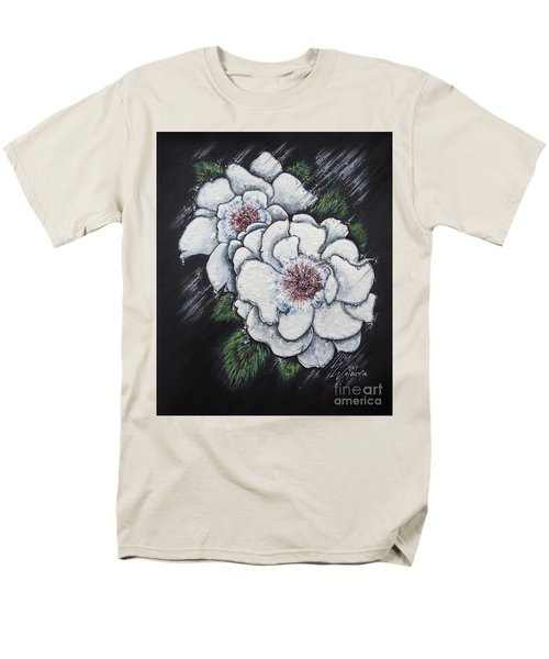 Summer Roses Men's T-Shirt  (Regular Fit) by Scott and Dixie Wiley